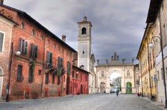 Cherasco cuneo. Glimpse at cherasco, Cuneo, piedmont, Italy Stock Photos
