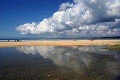 cherating的海滩 库存图片
