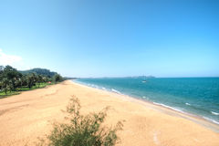 Cherating Beach, Kuantan, Malaysia. Cherating Beach, Club Med Kuantan in Malaysia Royalty Free Stock Photo