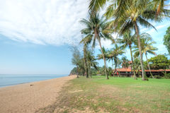 Cherating Beach, Kuantan, Malaysia. Cherating Beach, Club Med Kuantan in Malaysia royalty free stock photography