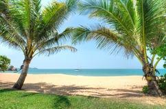 Cherating strand, Kuantan, Malaysia Royaltyfri Bild