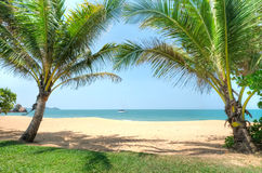Cherating-Strand, Kuantan, Malaysia Lizenzfreies Stockbild