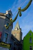 cherch οδός διακοσμήσεων Στοκ φωτογραφίες με δικαίωμα ελεύθερης χρήσης