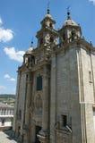 Cherch av Santiago - Pontedeumme Royaltyfri Bild