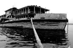 Cherepovets hamn Ryssland royaltyfria foton