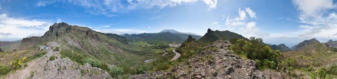 Cherfe panoramic viewpoint Stock Photo