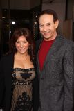 Cheri Oteri and Paul Reubens at the HBO  Royalty Free Stock Image