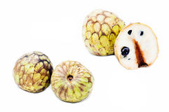 Cherimoya fruits Stock Photography