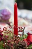 Cheristmas-Dekorationen Stockbilder