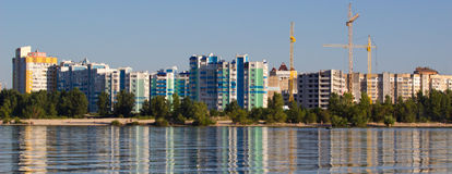 Cherkassy city water in Ukraine Stock Photos