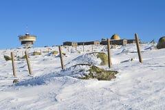Cherni Vrah dans la neige Image libre de droits