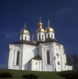 chernigiv教会katherina s st乌克兰 免版税库存图片