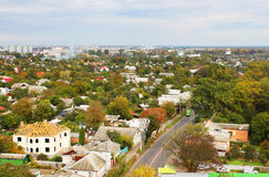 Chernigov city in the autumn Royalty Free Stock Images