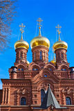 Chernigovsky skete in Sergiev Posad - Russia Stock Photo