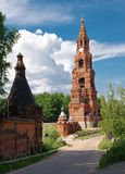 The Chernigovsky Skit Belfry in Russia Royalty Free Stock Photos