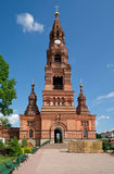 The Chernigovsky Skit Belfry in Sergiev Posad. The Belfry near Trinity Sergius Lavra in the ancient town of Sergiev Posad, near Moscow, Russia Royalty Free Stock Photography