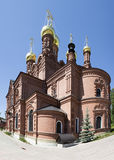 Chernigovsky Skit (part of the Holy Trinity Sergius Lavra) Royalty Free Stock Images