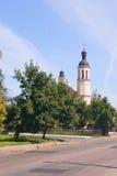 CHERNIHIV, 04 07 2015 - οικοδόμηση της καθολικής εκκλησίας σε Chernihiv Στοκ φωτογραφία με δικαίωμα ελεύθερης χρήσης