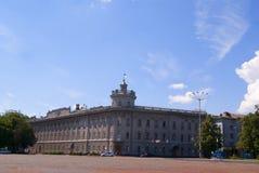 CHERNIHIV, DE OEKRAÏNE - JUNI 30, 2015: de bouw van een regionale admin Royalty-vrije Stock Fotografie