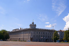 CHERNIHIV, UKRAINE - JUNE 30, 2015: building of a regional admin Royalty Free Stock Photography