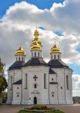 Chernihiv, Ukraine - October 19, 2016: St. Catherine`s Church, Chernihiv Ukraine Europe European cultural monuments. Royalty Free Stock Photos