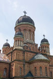 Chernivtsi Krajowy uniwersytet, siedziba Bukovinian i Dalmatyńscy metropolita, obraz royalty free