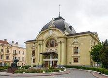 Chernivtsi Music and Drama theater Stock Images