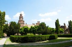 Chernivtsi nationaal universitair godsdienstig seminarie stock afbeeldingen
