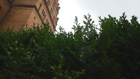 Chernivtsi Nationale Universiteit, Woonplaats van Bukovinian en Dalmatische Metropolitans, Chernivtsi, de Oekraïne stock video