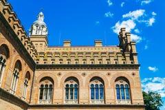 Chernivtsi nationellt universitet - Yuriy Fedkovych Chernivtsi Nati royaltyfri fotografi
