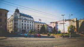 Chernivtsi Ukraina Arkivfoto