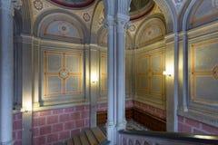 CHERNIVTSI UKRAINA - Chernivtsi historiskt universitet Fotografering för Bildbyråer