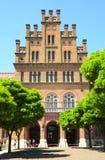 CHERNIVTSI, UKRAINE - 3 AVRIL 2017 : Résidence de Bukovinian et métropolitaine dalmatienne, maintenant une partie d'université de photographie stock libre de droits