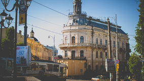 Chernivtsi, Ukraine. Chernivtsi is the most beautiful city in Ukraine Royalty Free Stock Image