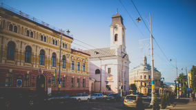 Chernivtsi, Ukraine. Chernivtsi is the most beautiful city in Ukraine Royalty Free Stock Photo