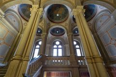 CHERNIVTSI, UKRAINE - université historique de Chernivtsi Images stock
