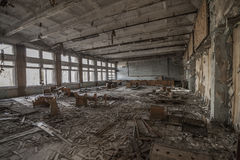 Free Chernobyl - Abandoned Classroom In Pripyat Royalty Free Stock Images - 56675299