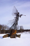 Chernobyl anioł litość zdjęcia stock