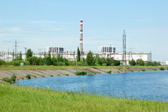 Chernobyl atomic power station Royalty Free Stock Images