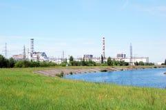 Chernobyl atomic power station Stock Photos