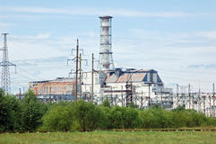 Chernobyl atomic power station Royalty Free Stock Photography