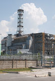 Chernobyl atomic power station. Chernobyl atomic nuclear power station in Ukraine Stock Images