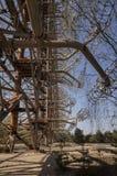 Chernobyl: Duga old soviet radar system Stock Photos