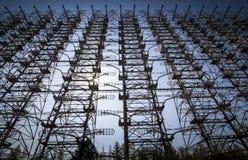 Chernobyl: Duga old soviet radar system Royalty Free Stock Images