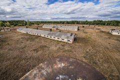 Chernobyl exclusion area Stock Image