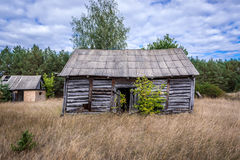 Chernobyl exclusion area Royalty Free Stock Image