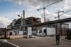Chernobyl Exclusion Zone Royalty Free Stock Photography