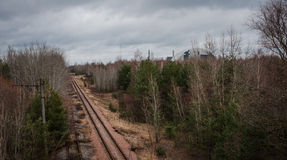 Chernobyl Exclusion zone Stock Photos