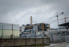 Chernobyl Exclusion zone Royalty Free Stock Photo