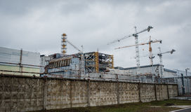 Chernobyl Exclusion zone Royalty Free Stock Images